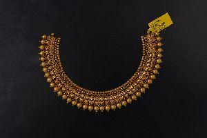 semi antique gold jewellery
