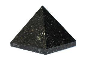 Black Tourmaline Stone Pyramid