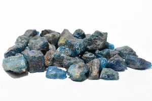 Blue Apatite Raw Rough Stone