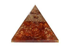 Carnelian Orgone Pyramid
