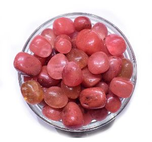 Cherry Quartz Tumbled Stone