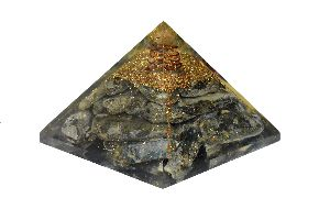 Kyanite Orgone Pyramid
