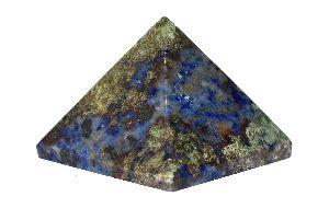 Sodalite Stone Pyramid