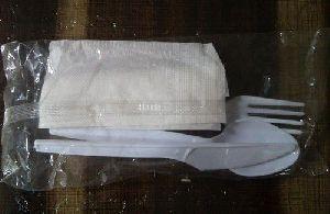 White Cutlery Set