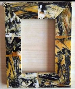 Bone Tery Resin Photo Frame