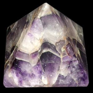 Amethyst Gemstone Pyramid