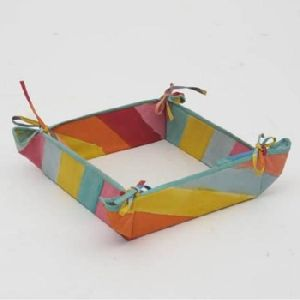 Multi Color Bread Basket