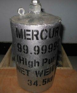 Purity Silver Liquid Metallic Mercury
