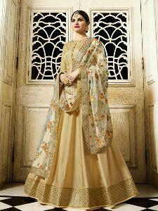 Sana Silk Designer Anarkali Salwar Suit