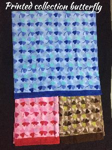 Butterfly Printed Towels
