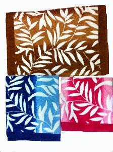 Leaf Printed Towels