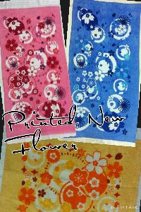 New Flower Printed Towels