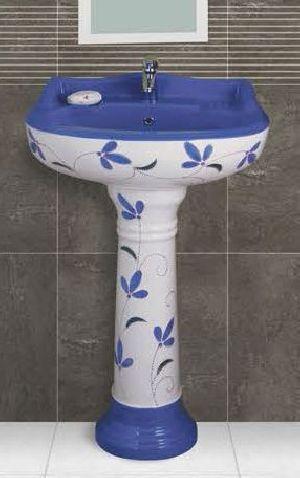 Phenil-000 Dolphin Pedestal Wash Basin