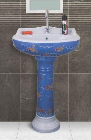 Phenil-202 Dolphin Pedestal Wash Basin