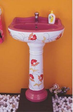 Phenil-204 Dolphin Pedestal Wash Basin