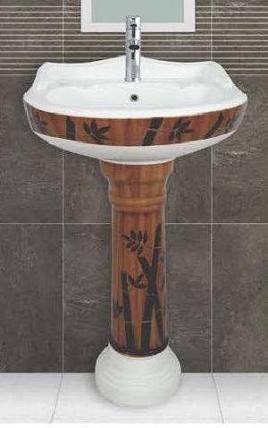Phenil-216 Dolphin Pedestal Wash Basin