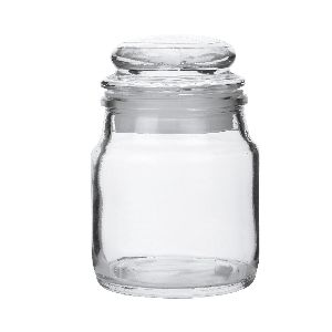 100gm Glass Dome Candle Jar