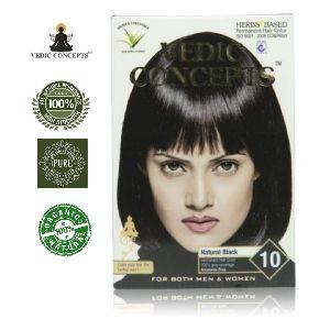 Vedic Concepts Herbal Hair Color- Natural Black-no.10