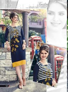 Vastrikaa Shades Vol 6 Kurtis Collection
