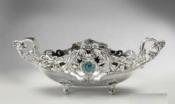 Silver Decorative Plate