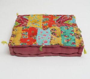 Hand Block Printed Floor Cushion