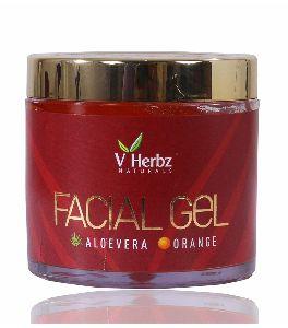 Aloe Vera Orange Facial Gel