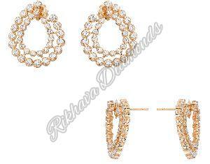 IER-15 Diamond Earrings