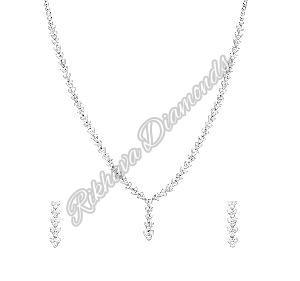 INK-3, INKER-2 Diamond Necklace