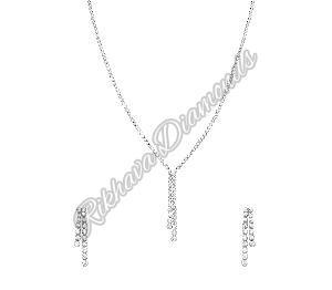 INK-4, INKER-4 Diamond Necklace