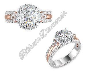 LR-206 Women Diamond Ring