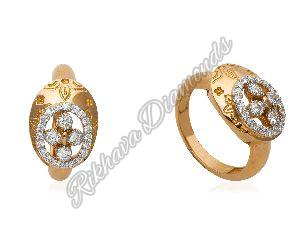 R-207 Women Diamond Ring