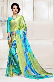 Designer Satin Silk Saree