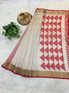 Khadi Silk Saree