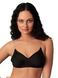 Sona Women's M1017 Backless Non-padded With Transparent Back Strap Bra