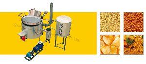 Circular Fryer With Diesel Heat Exchanger
