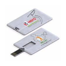 Card Shape Pen Drive