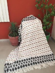 Cotton Acrylic Bed Throws