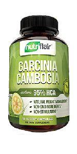 Nutri Flair Garcinia 95% For Fat Loss