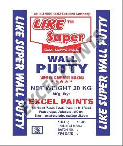 Cement Wall Putty - Manufacturers, Suppliers & Exporters in