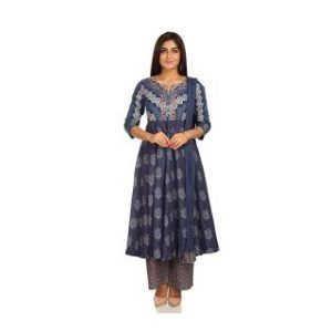 Anarkali Cotton Dress