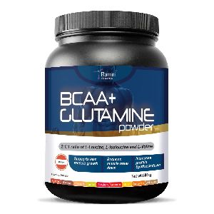 BCAA WITH L-GLUTAMNE - 500 gms - ORANGE FLAVOUR