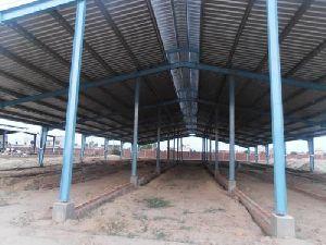Dairy Farm Prefabricated Shed