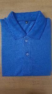 Mens Blue Polo T Shirt