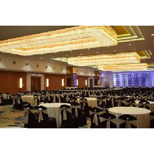 Rectangle Crystal Chandelier Banquet Hall Chandelier