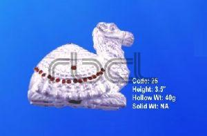 25 Sterling Silver Camel Statue