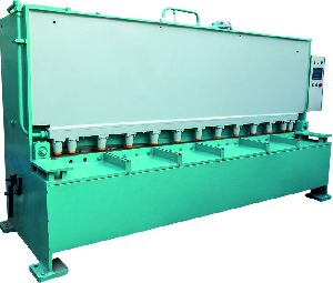Variable Rake Angle Hydraulic Shearing Machine