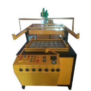 Semi Automatic Thermocol Dona Making Machine