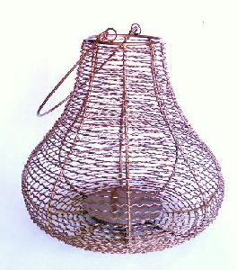 Gi-084 Iron Candle Lantern