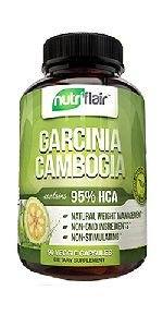 Nutri Flair Garcinia 95% Capsules