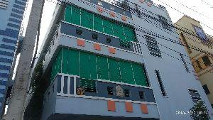 Green Balcony Bamboo Blinds